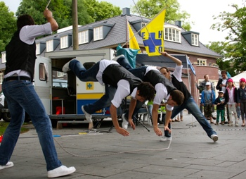 BB crew Planet Jump Rope Holland's got Talent